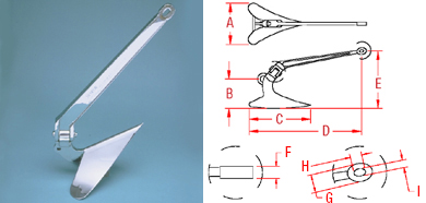 Stainless Steel Plowmaster Anchor